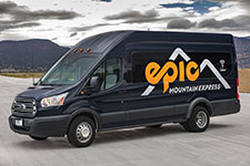 Epic Mountain Express shuttle service